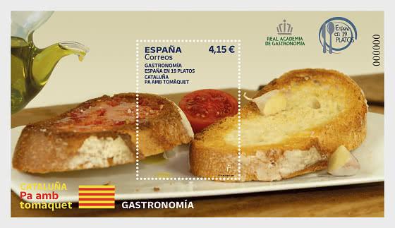 Catalonia - Pa Amb Tomàquet - Blocs feuillets