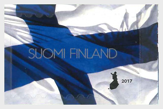 Finnish national flag, 100 years - Set