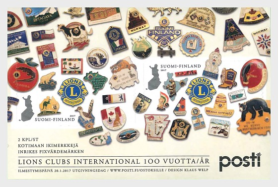 Lions International 100th Anniversary - Miniature Sheet