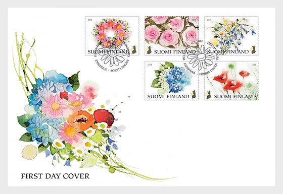The Flowers of Happiness - First Day Cover