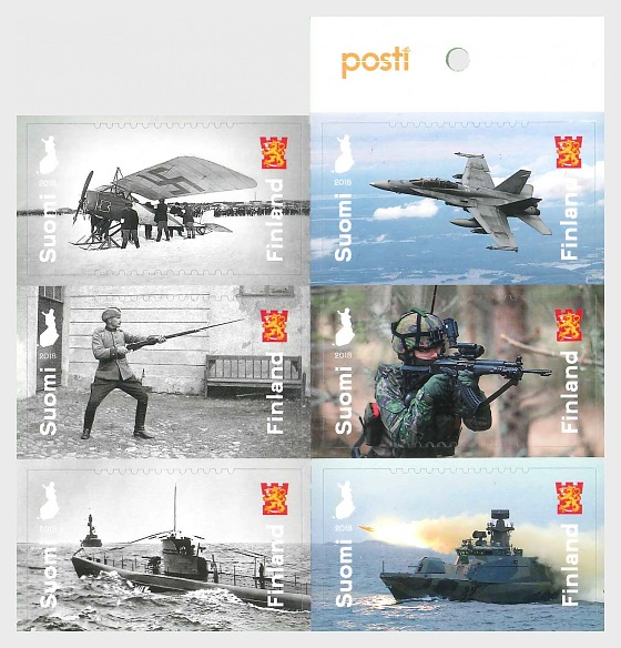 Defence Forces 100 Years - Stamp Booklet
