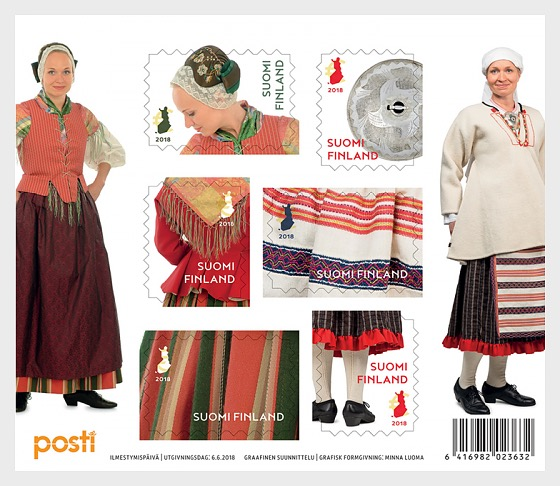 National Costumes - 小型张