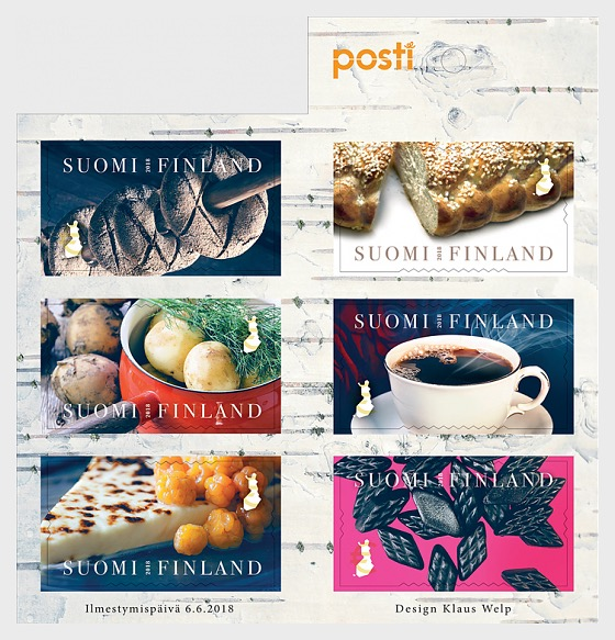 Tastes from Finland - Stamp Booklet