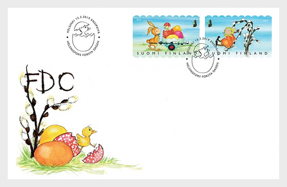 Easter Games - First Day Cover