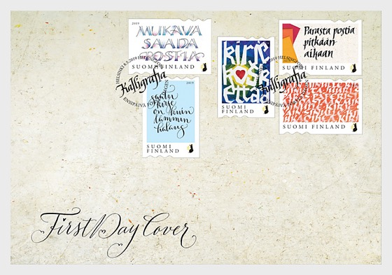 Touching Letter - First Day Cover