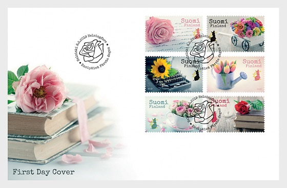 Say it with Flowers - First Day Cover