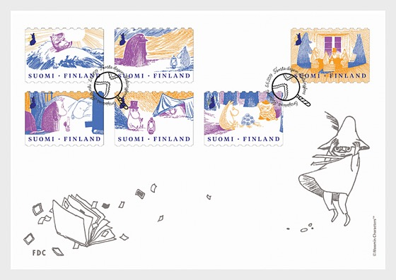 Advice of Moomins to the Good Life - First Day Cover