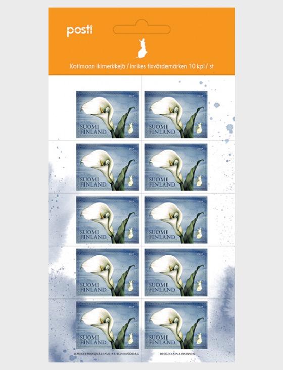 Calla Domestic Stamp - Mini Hojas