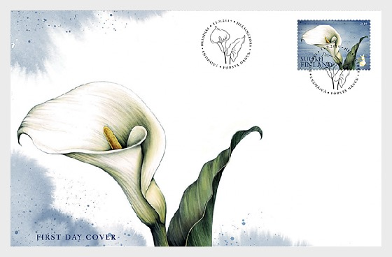 Calla Domestic Stamp - First Day Cover