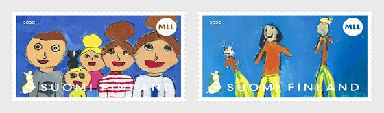 Mannerheim League per il Benessere dei Bambini 100 Anni - Serie