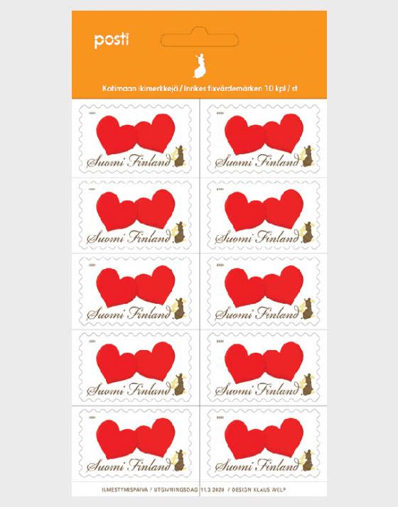 Two Hearts - Sheetlets