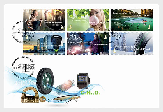 Made in Finland - First Day Cover