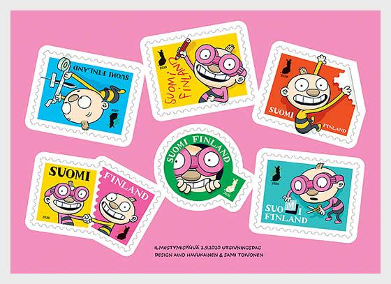 Tatu and Patu - Stamp Booklet