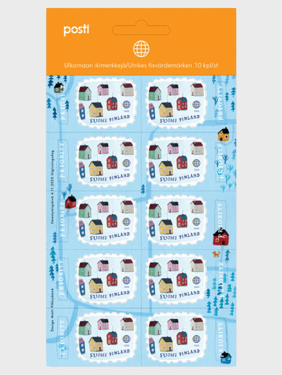 Welcome to the Village - 10 International Stamps - Sheetlets