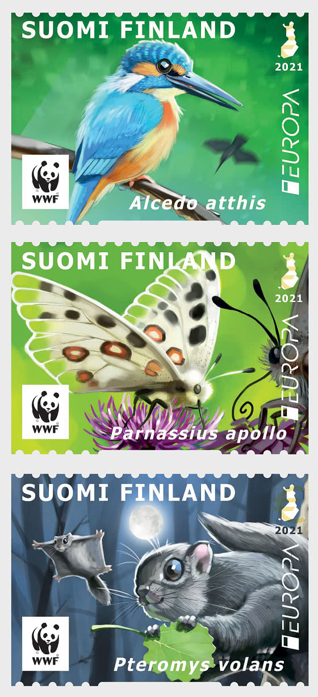 Europa 2021 - Endangered Species - Set