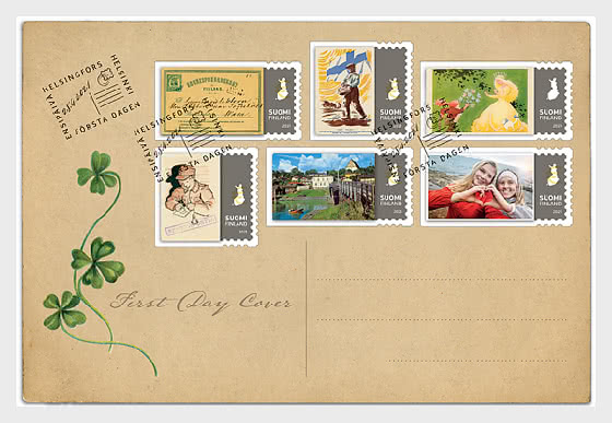 Postcard 150 Years - First Day Cover
