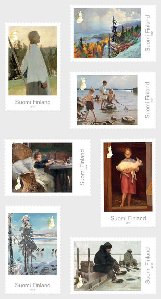 Pinturas finlandesas clásicas - Series
