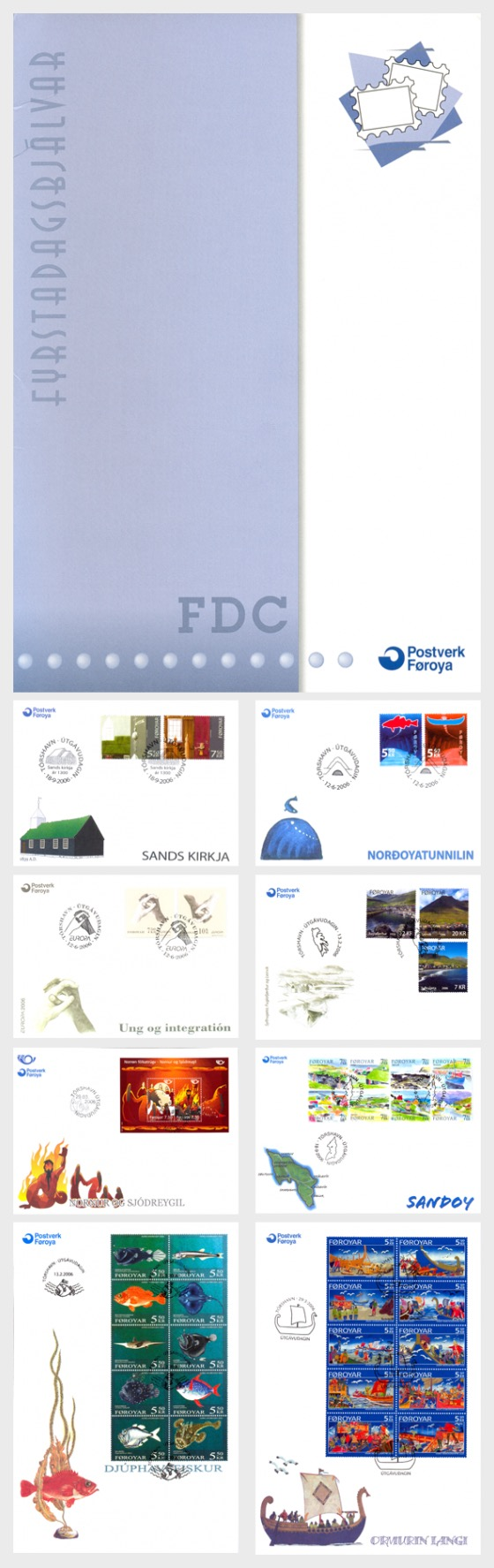 2006 FDC Folder - Annual Product