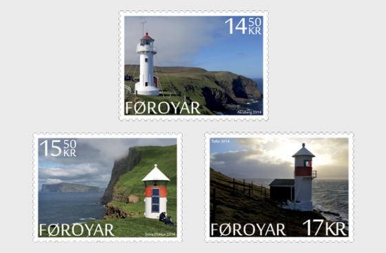Faroese Lighthouses - Set