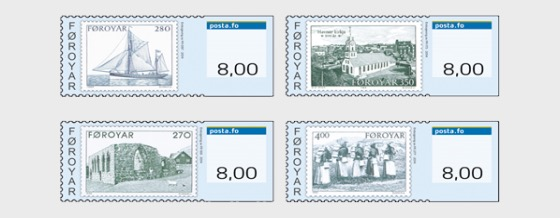 2014 Franking Labels - Mint - Set