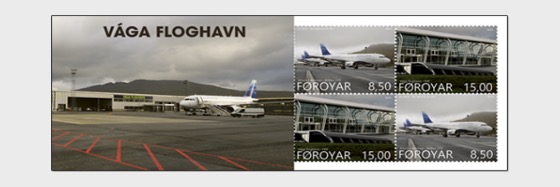 Vágar Airport - Stamp Booklet