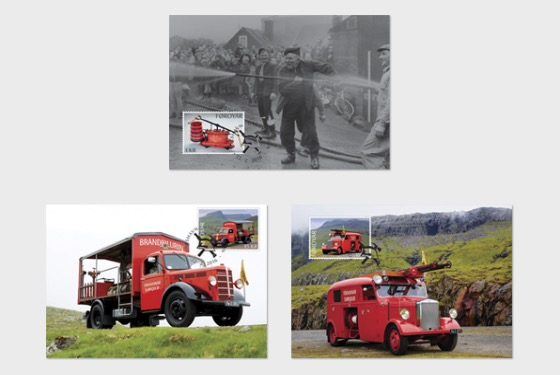 Old Fire Trucks - Maxi Cards