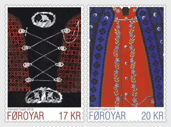 Faroese national Costumes I - Set