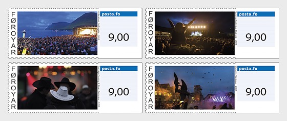 2016 Franking Labels - Mint - Set