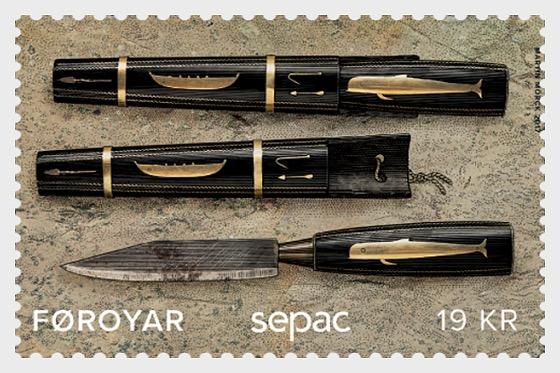 Sepac 2017 - Faroese Knife- (Set Mint) - Set