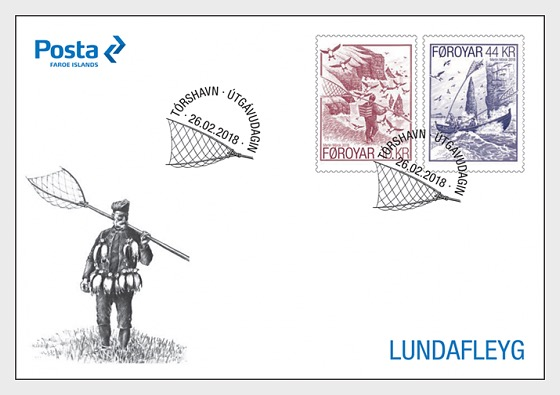 Seabird Fowling - (FDC Set) - First Day Cover