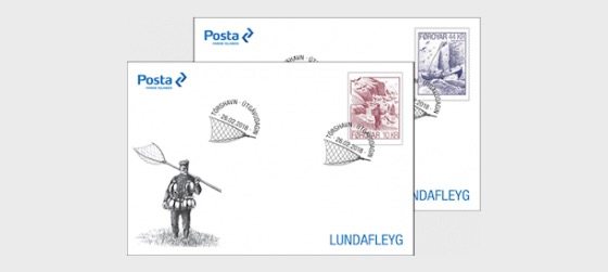 Seabird Fowling - (FDC Single Stamp) - First Day Cover single stamp
