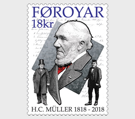 H.C. Müller 200 Years - (Stamp Mint) - Set