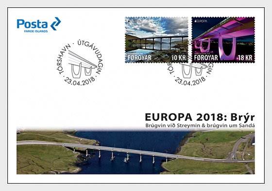 Europa 2018 - (FDC Set) - First Day Cover