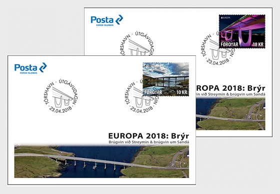 Europa 2018- (FDC Single Stamp) - First Day Cover single stamp
