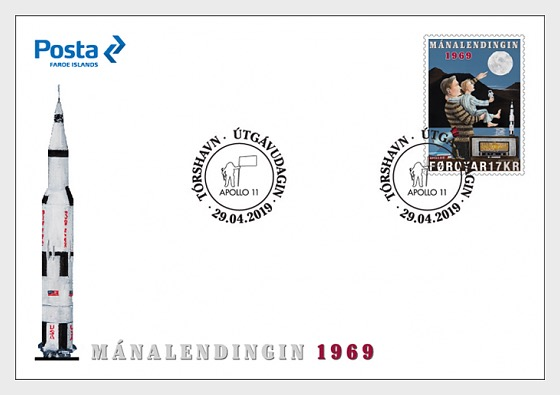 The Moon Landing 1969 - First Day Cover