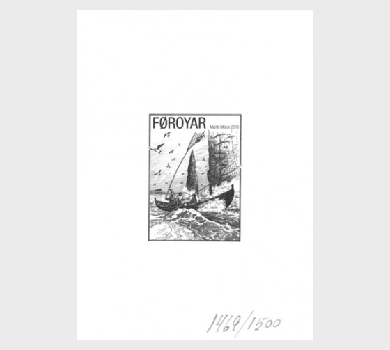 Seabird Fowling - Limited Edition Blackprint - Collectibles