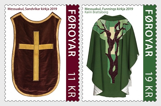 Chasubles - Set Mint - Set