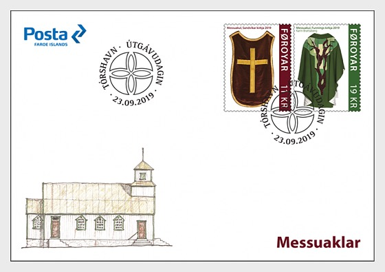 Chasubles - FDC Set - First Day Cover