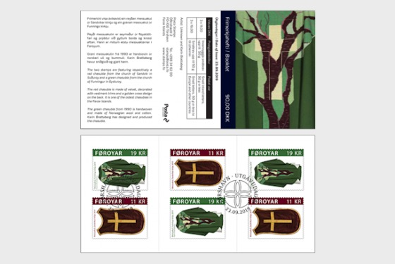 Chasubles - SB CTO - Stamp Booklet CTO