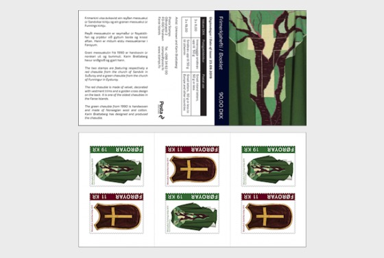 Chasubles - Stamp Booklet
