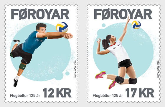 Volleyball 125 Years - Set Mint - Set