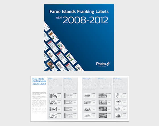 Franking Labels  Folder 1 2008 - 2012 - Collectibles