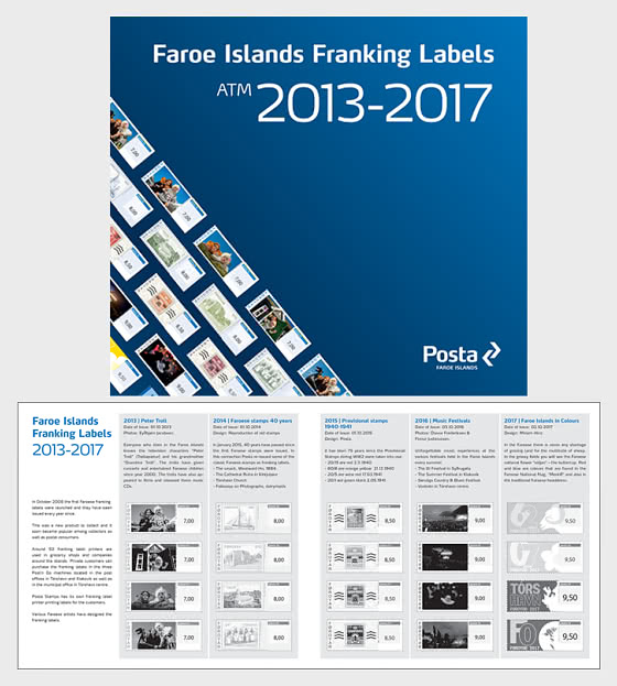 Franking Labels Folder 2 2013- 2017 - Collectibles