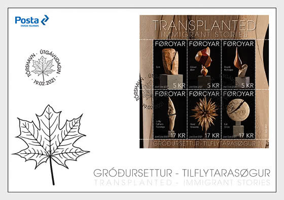 Transplanted - First Day Cover