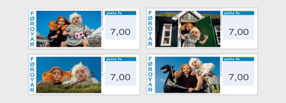 Franking Labels 2013, Peter Troll - Serie