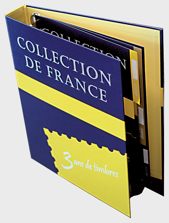 French Collection 2016  - Binder with 3 dividers - Collectibles
