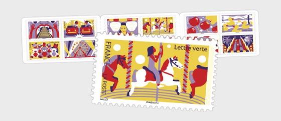 The Funfair - Stamp Booklet