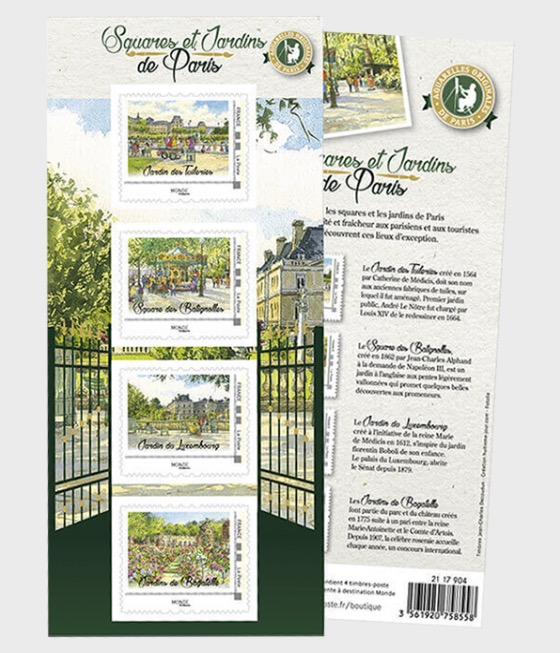 Summer - Squares and Gardens of Paris (Validity World) - Collectibles