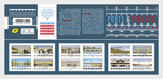 Bridges and Viaducts - Stamp Booklet