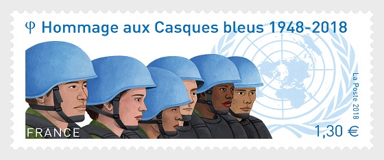 Tribute to the Blue Helmets 1948 - 2018 - Set